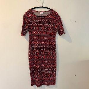 LULAROE Short Sleeve Dress, size S